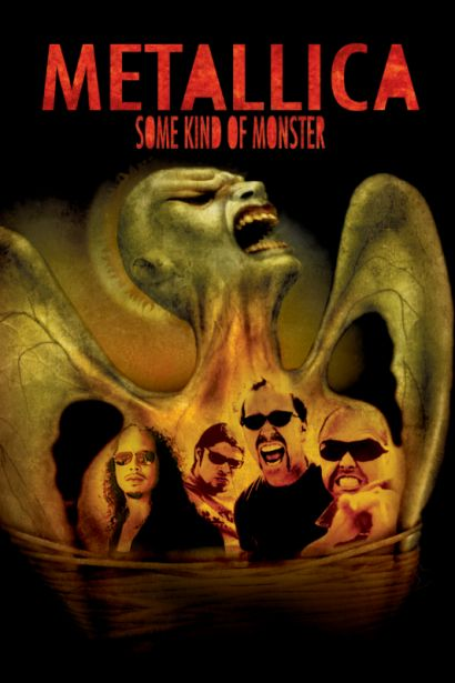 metallica some kind of monster movie poster