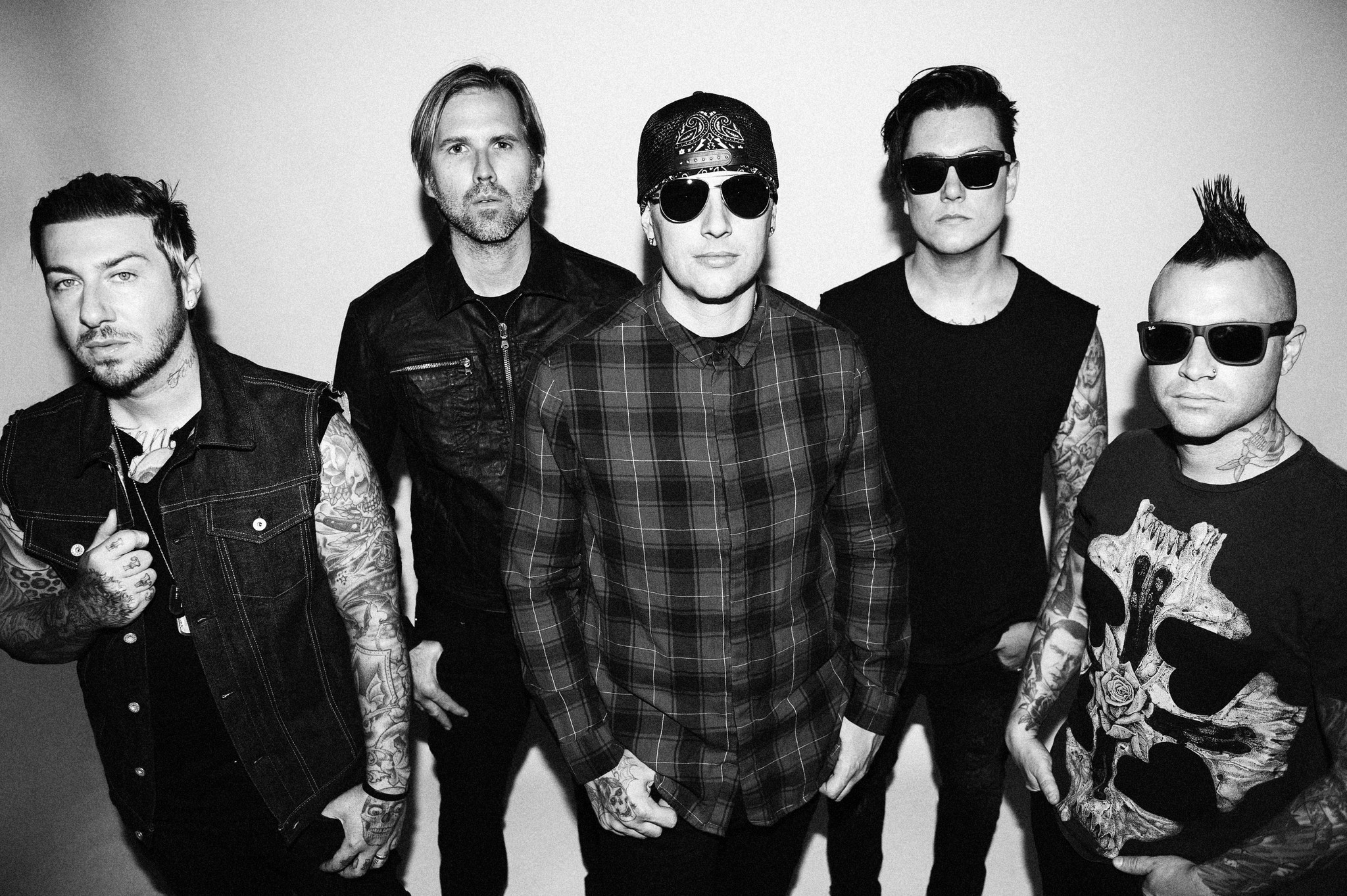 Avenged Sevenfold (photo by Jeff Forney)