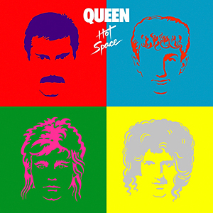 queen - hot space - mega-depth