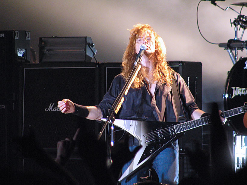 "Dave Mustaine on tour to support ""The System Has Failed"""