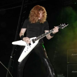 dave mustaine jackson y2kv world needs a hero - mega-depth