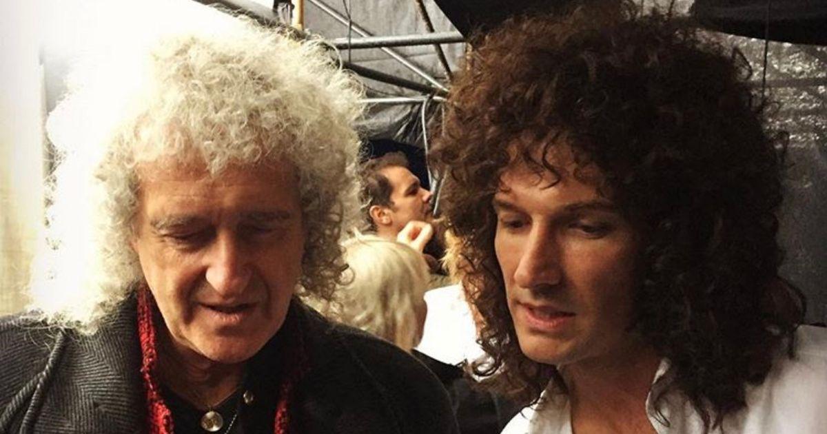Brian May and... Brian May?