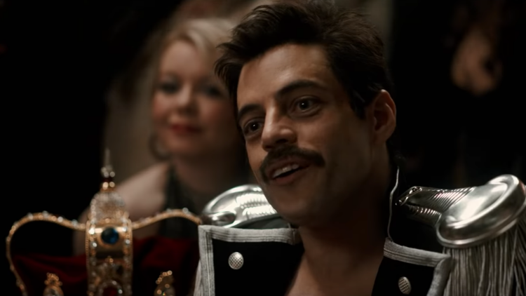 Rami Malek as Freddie Mercury (Copyright: 20th Century Fox)