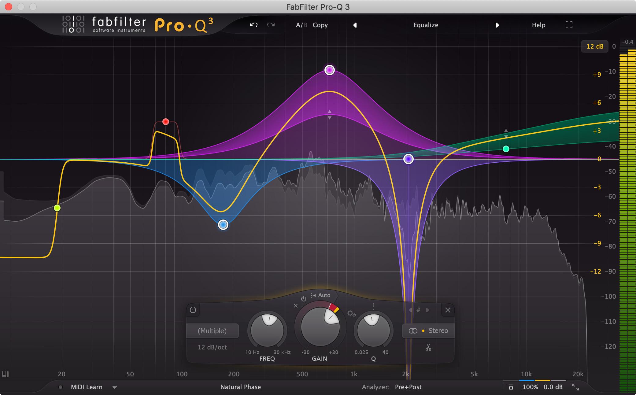 FabFilter Pro Q3 EQ Plug-In