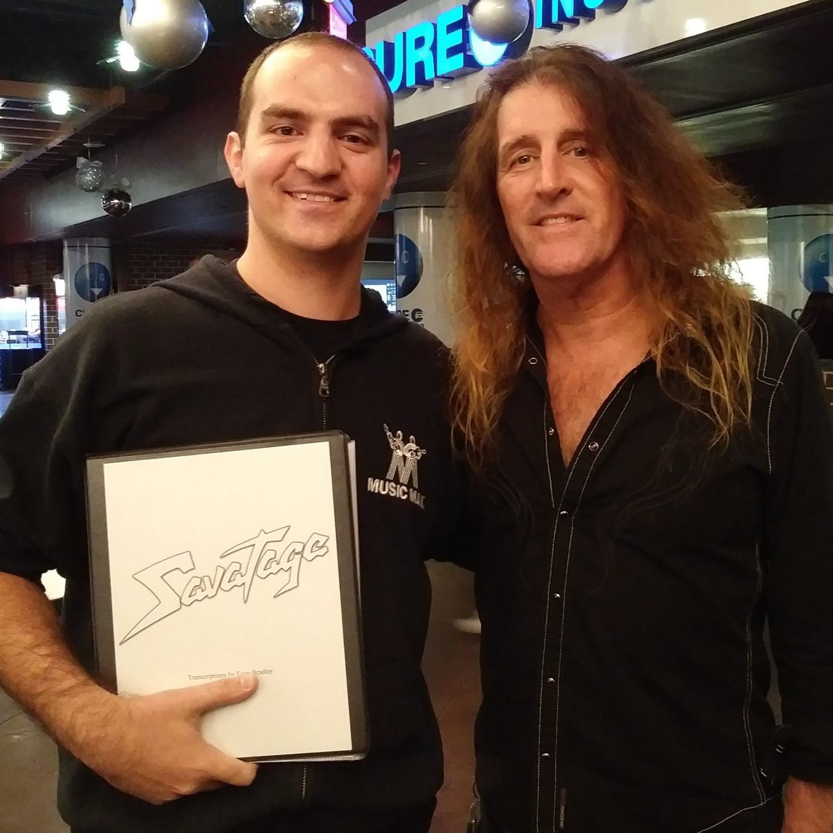 Evan Bradley and Jeff Plate of TSO/Savatage